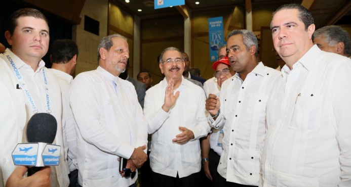 El presidente Medina no se siente presionado por el caso Odebrecht