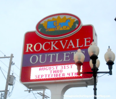 Rockvale Outlets Mall in Lancaster Pennsylvania
