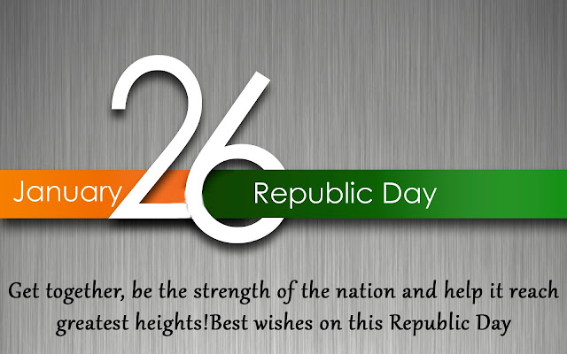 Happy Republic Day Wishes India 2018