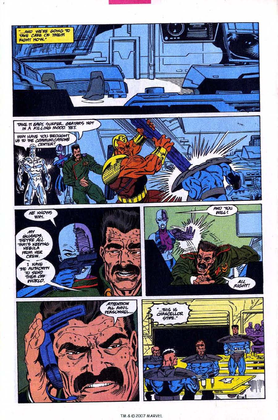 Read online Silver Surfer (1987) comic -  Issue #78 - 5
