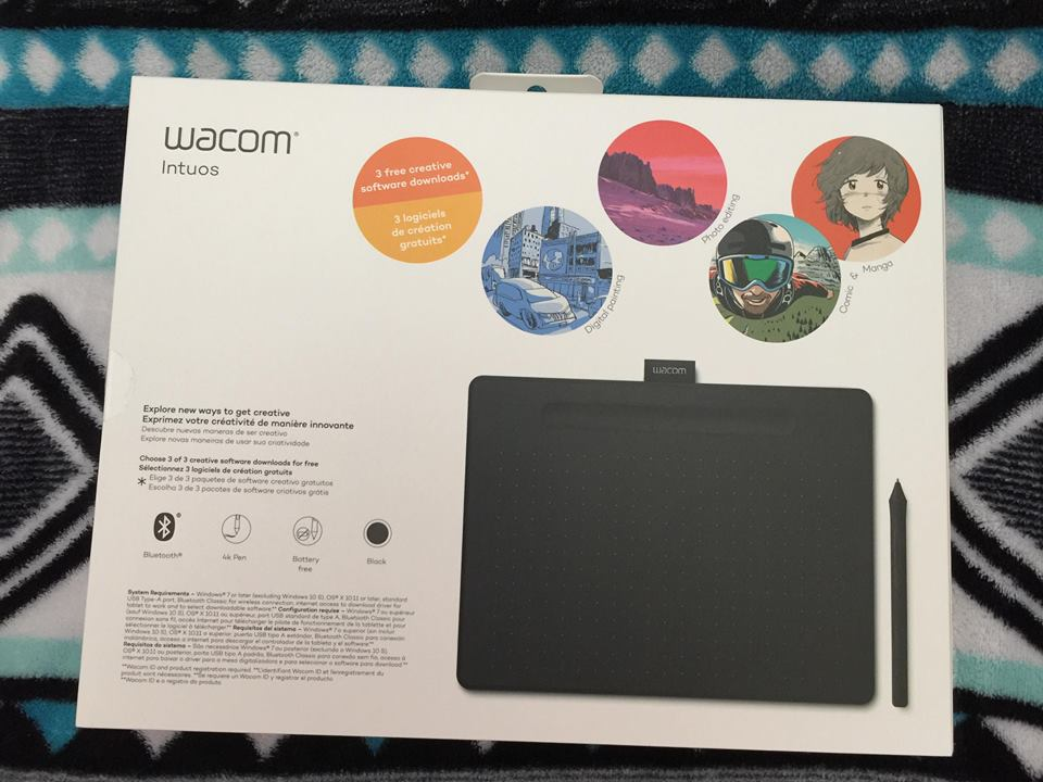 Popular Product Reviews by Amy: Wacom Intuos Bluetooth Creative Pen