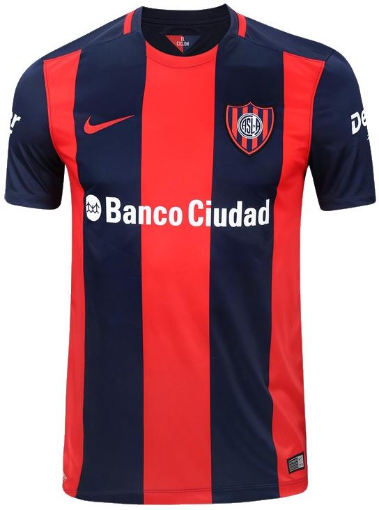 3f061aa842 Nike divulga as novas camisas do San Lorenzo - Show de Camisas
