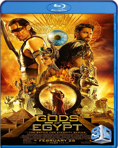 Gods of Egypt [BD50] [2016] [Latino] [3D]