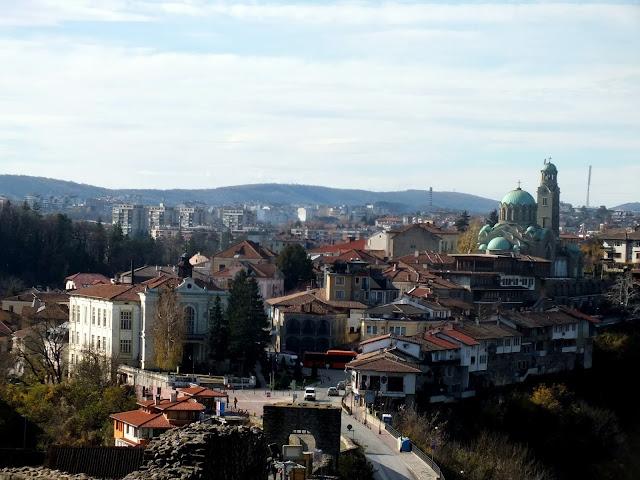Vistas del centro de Veliko Tarnovo