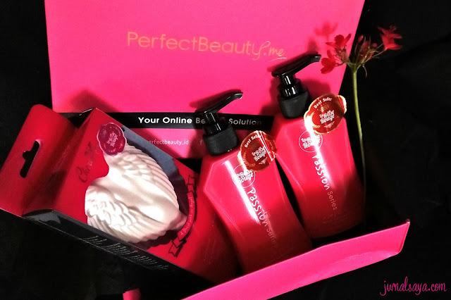 dapat paket dari perfectbeauty.id