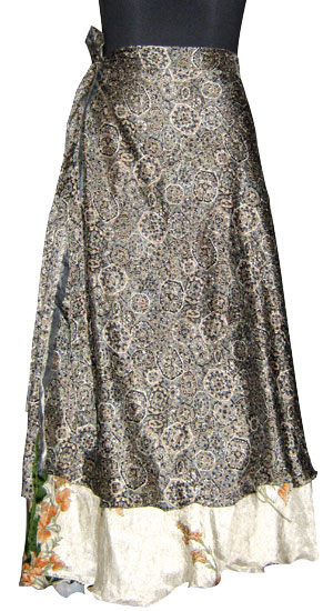 New Ladies Wrap Sarong Long Skirt Dress India