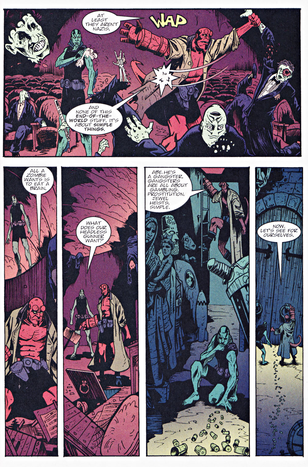 Read online Hellboy: Weird Tales comic -  Issue #7 - 15