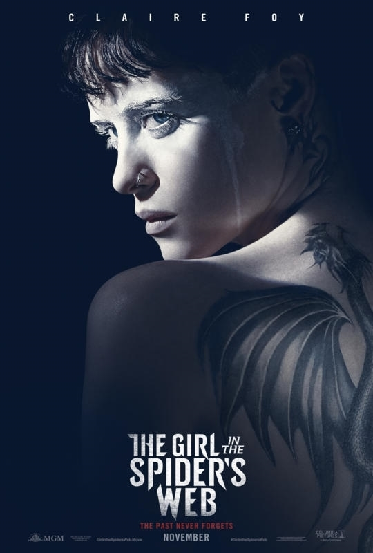 The Girl in the Spider's Web: A New Dragon Tattoo Story