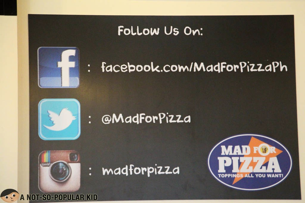 Mad for Pizza Social Media Accounts
