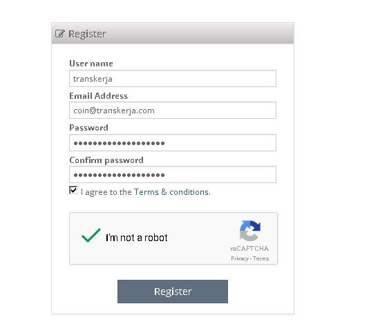 Cara Mendaftar di Situs Exchange Cryptopia