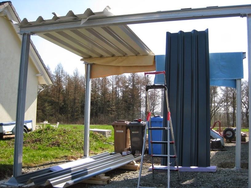 marios werkstatt hausprojekt carport teil 2 garten. Black Bedroom Furniture Sets. Home Design Ideas