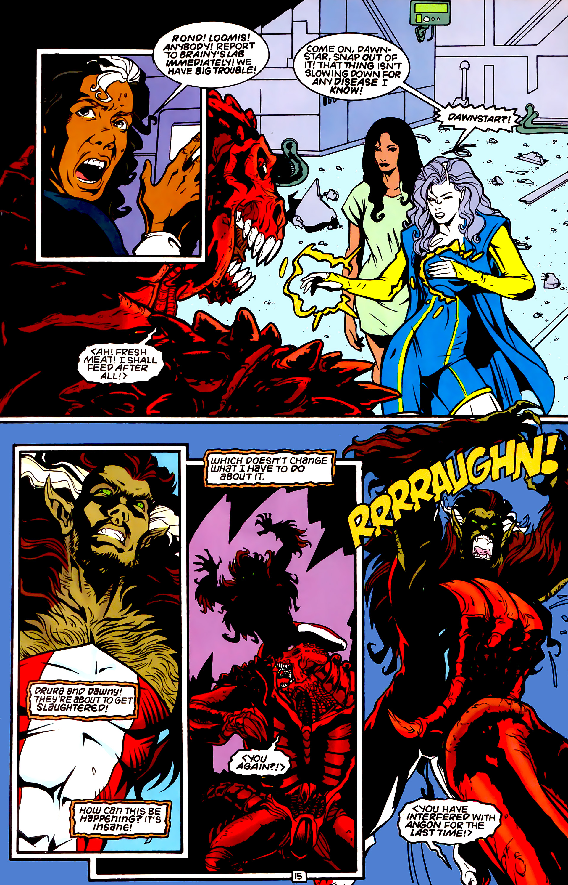 Legion of Super-Heroes (1989) _Annual_4 Page 15