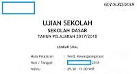 Prediksi Soal Ujian Sekolah (US) PKn Kelas 6 SD Tahun Ajaran 2017/2018