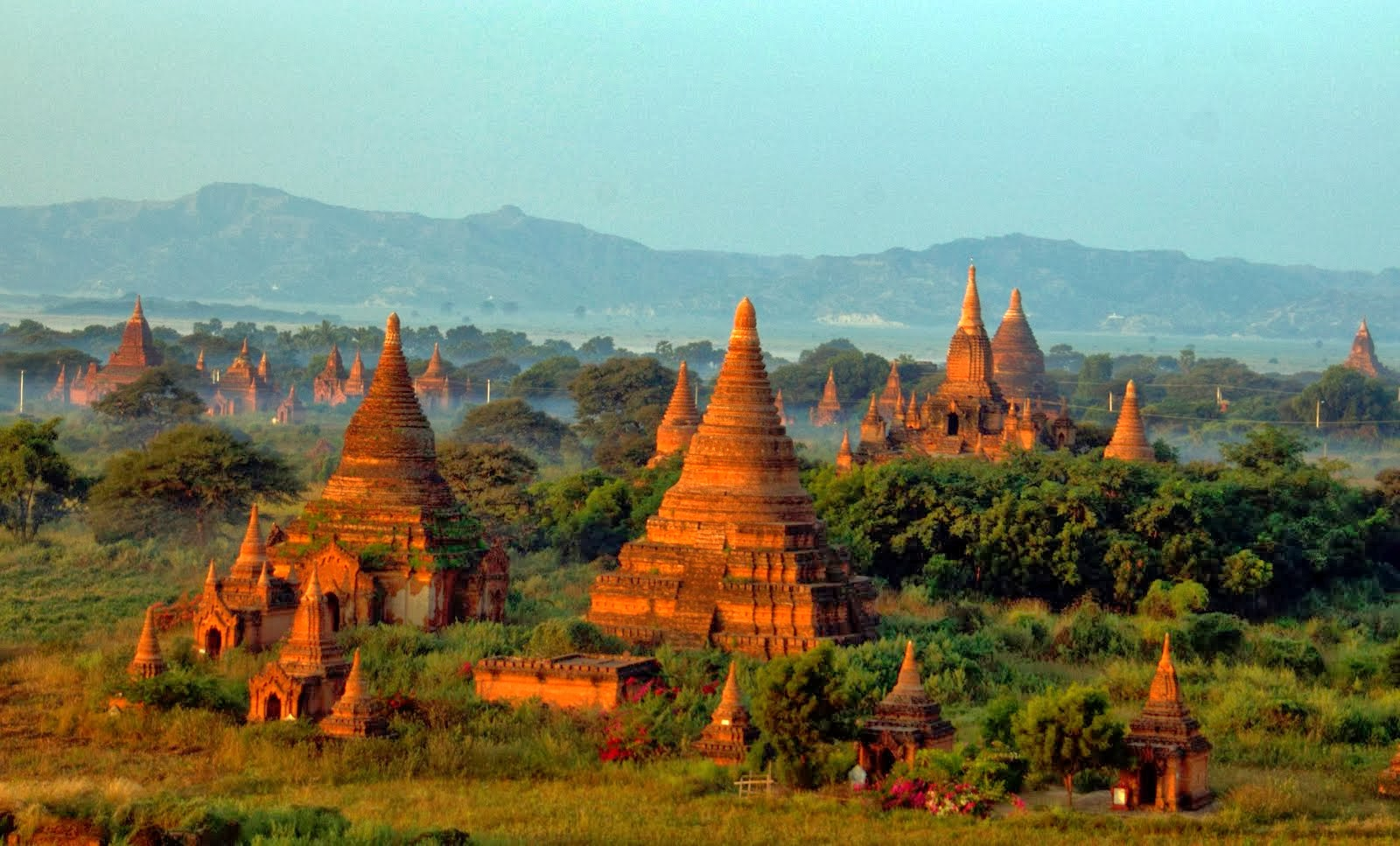Historic Relics in my Corner of the World: Bagan Pagodas, 10th-14th Century