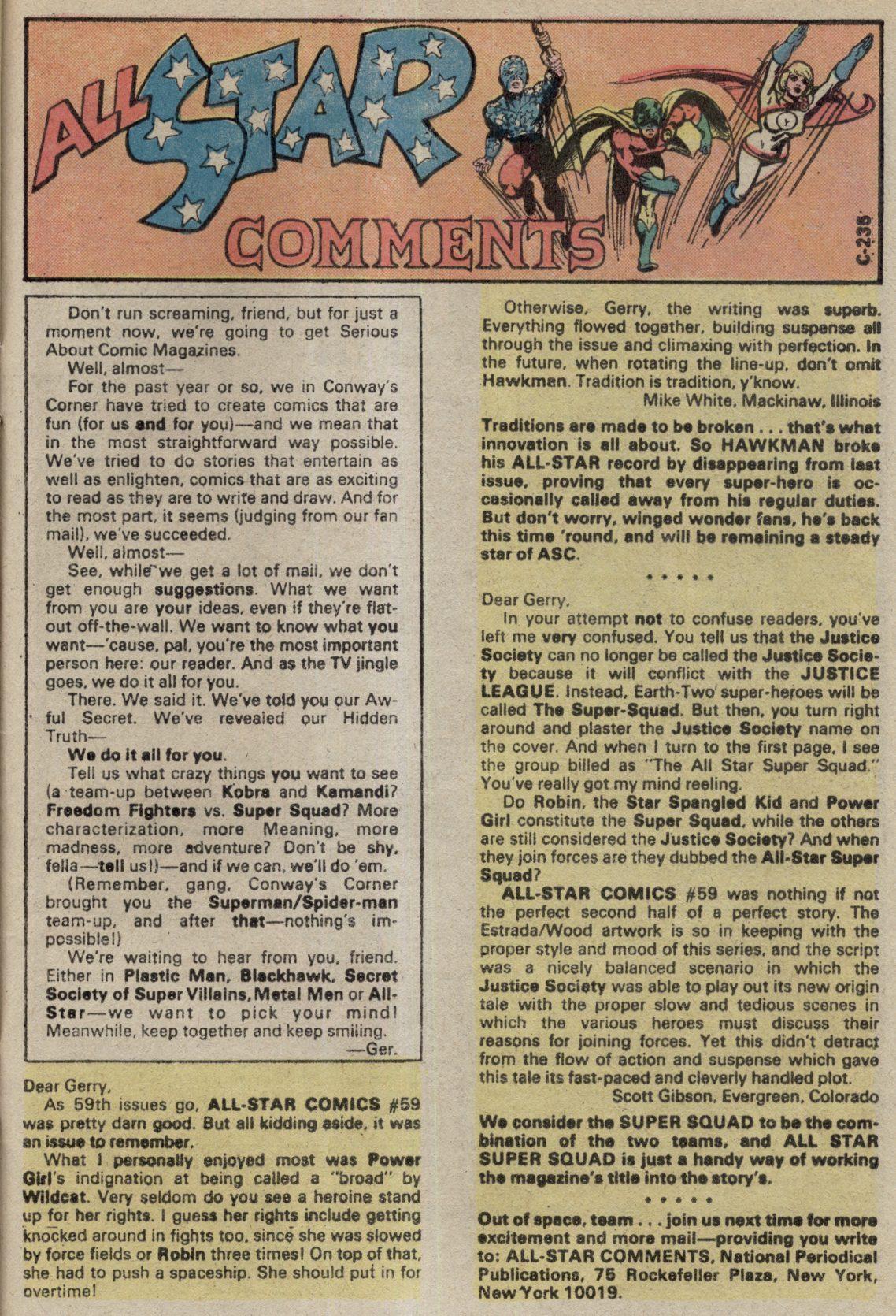 Read online All-Star Comics comic -  Issue #61 - 33