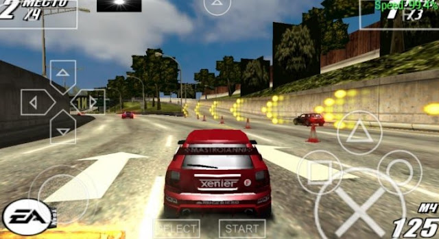 Burnout Legends PPSSPP ISO Android