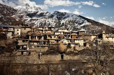 H παλιά πόλη του Simikot, Νεπάλ.