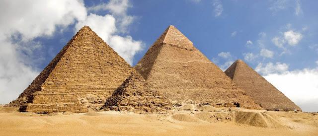 Piramida di Mesir Sebagai Salah Satu Keajaiban Dunia Kuno