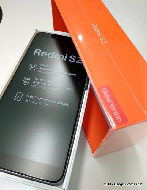 Xiaomi Redmi S2: a better Redmi Note 5A - Gadget Victims