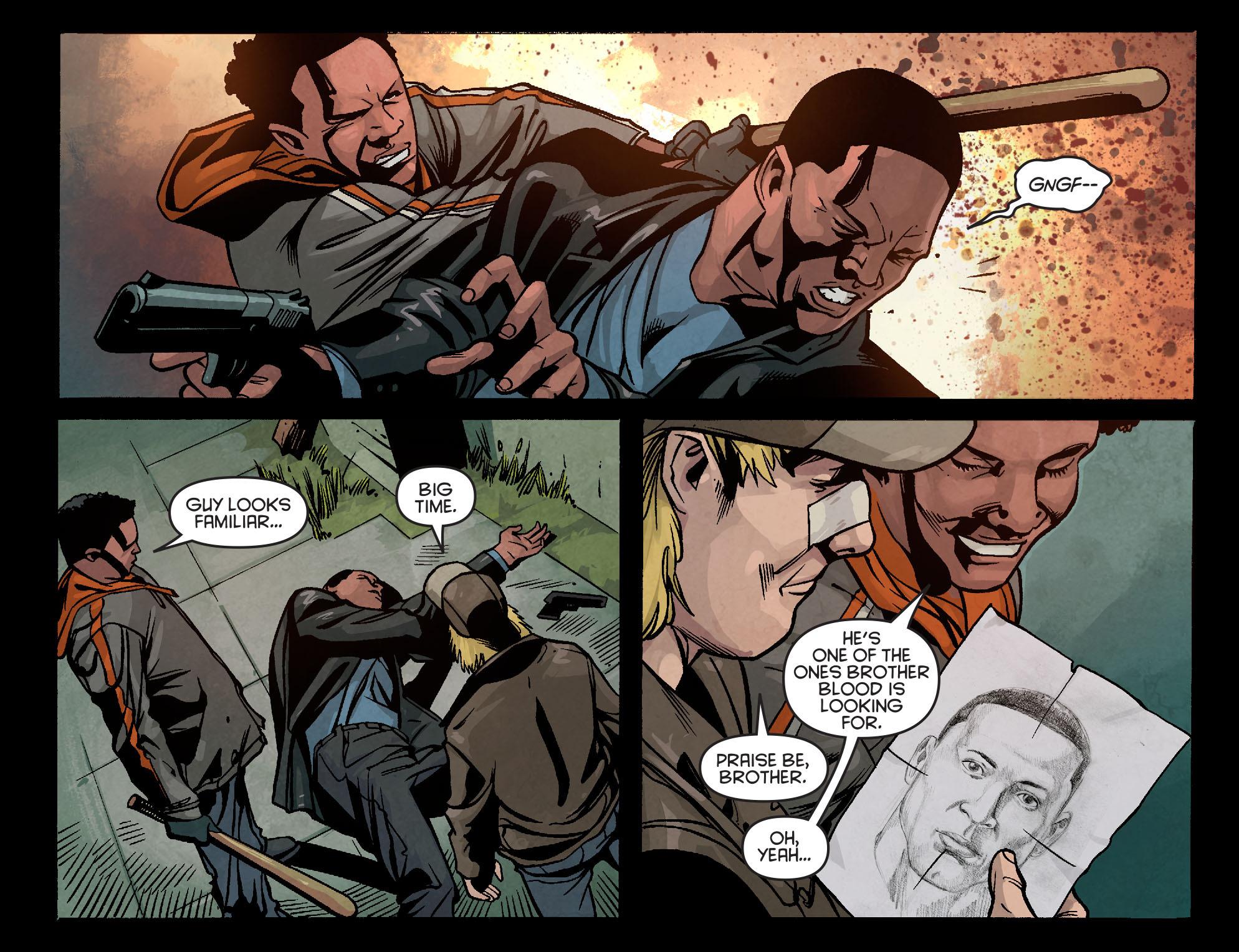 Read online Arrow: Season 2.5 [I] comic -  Issue #5 - 19