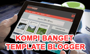 Kompi Banget Blogger Template Friend