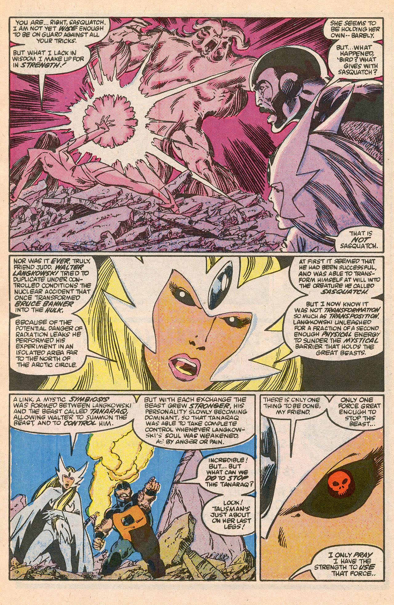 Read online Alpha Flight (1983) comic -  Issue #23 - 24