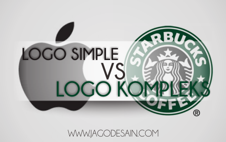 Logo simple/Sederhana vs Logo kompleks