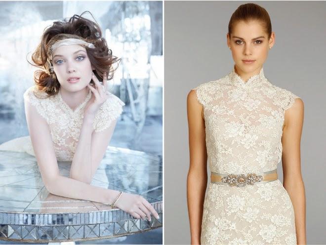 Modernos vestidos de novia | Trajes de novias Coleccion Lazaro Fall ...