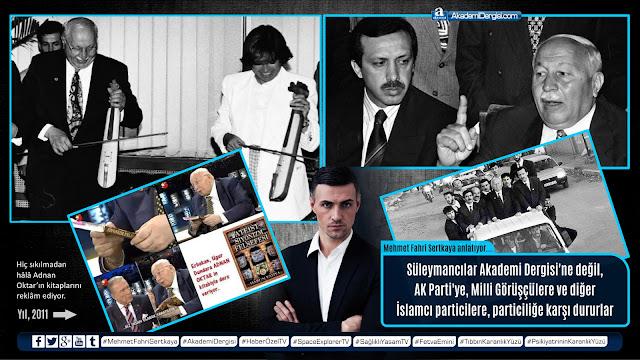 akademi dergisi, mehmet fahri sertkaya, süleymancılar, Recep Tayyip Erdoğan, necmettin erbakan, ak parti, milli görüş, video,