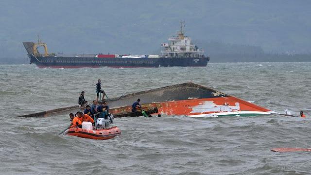 Kapal TKI karam Di Malaysia, Nasib 18 Penumpang belum Diketahui