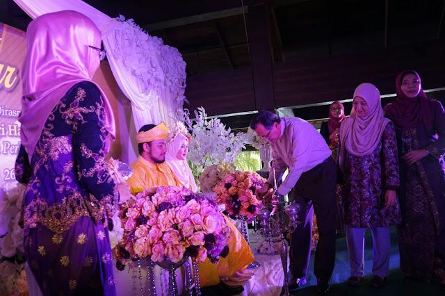 Upacara gimik pelancaran Pakej Perkahwinan di Taman Warisan Pertanian Putrajaya