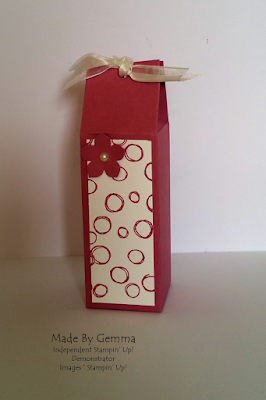 Stampin'Up! tiny gift box
