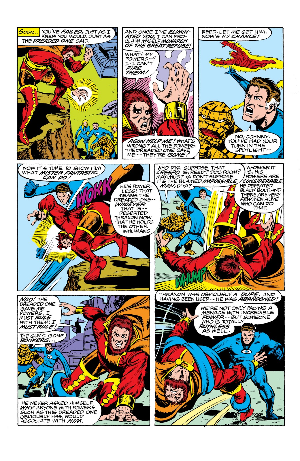 Read online Marvel Masterworks: The Inhumans comic -  Issue # TPB 2 (Part 3) - 65