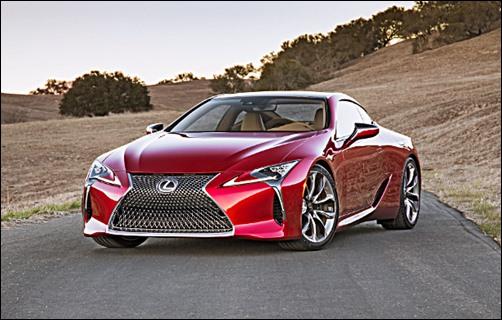 2018 Lexus LF LC Concept Specs