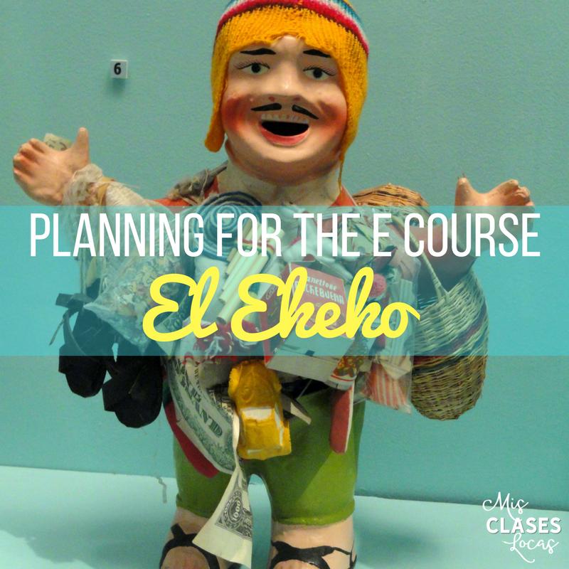 Planing to teach El Ekeko (e course)