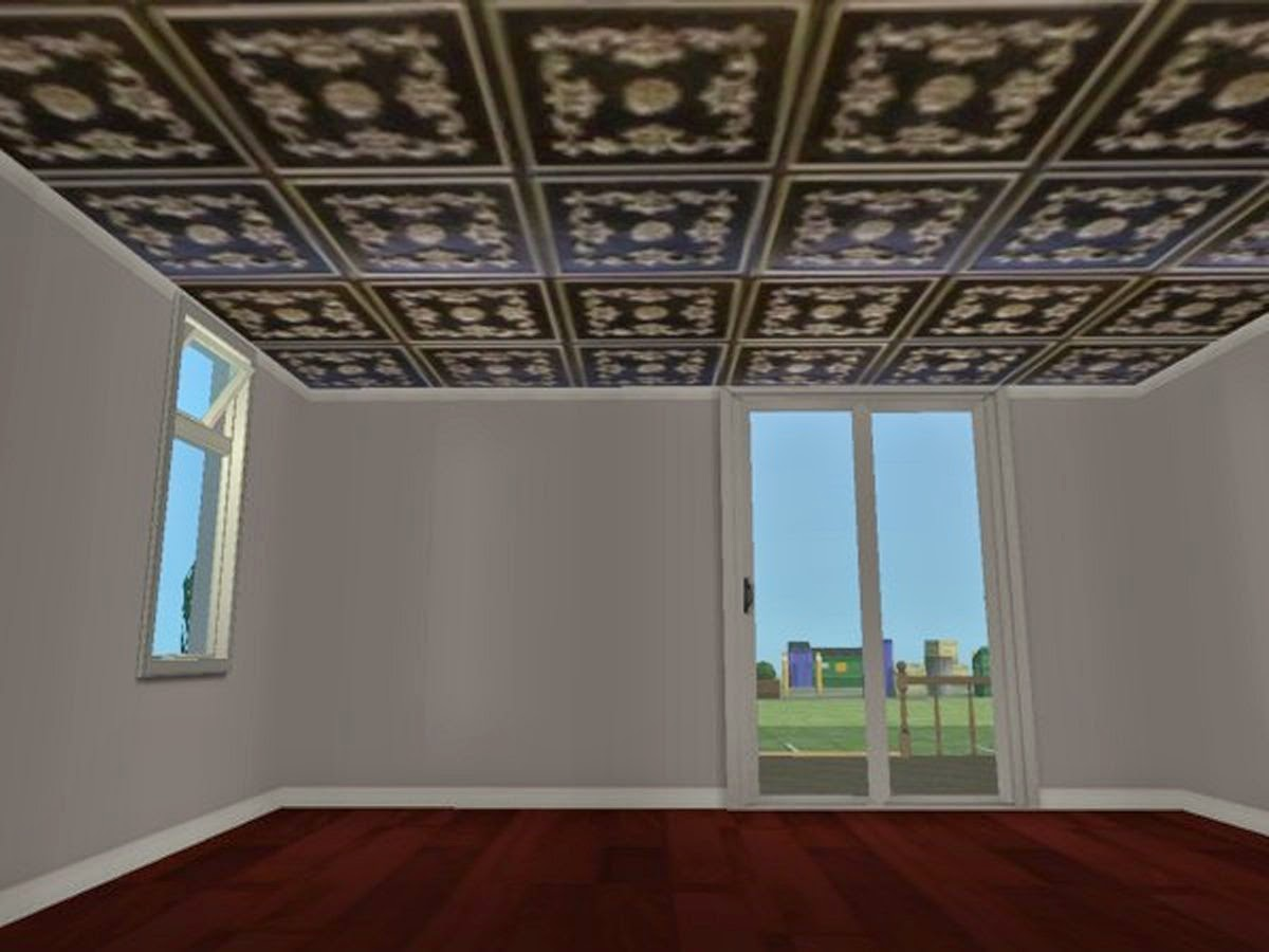 Victorian Ceilings Ideas Rougue 39s Designs For The Sims 2 Decorative Fancy