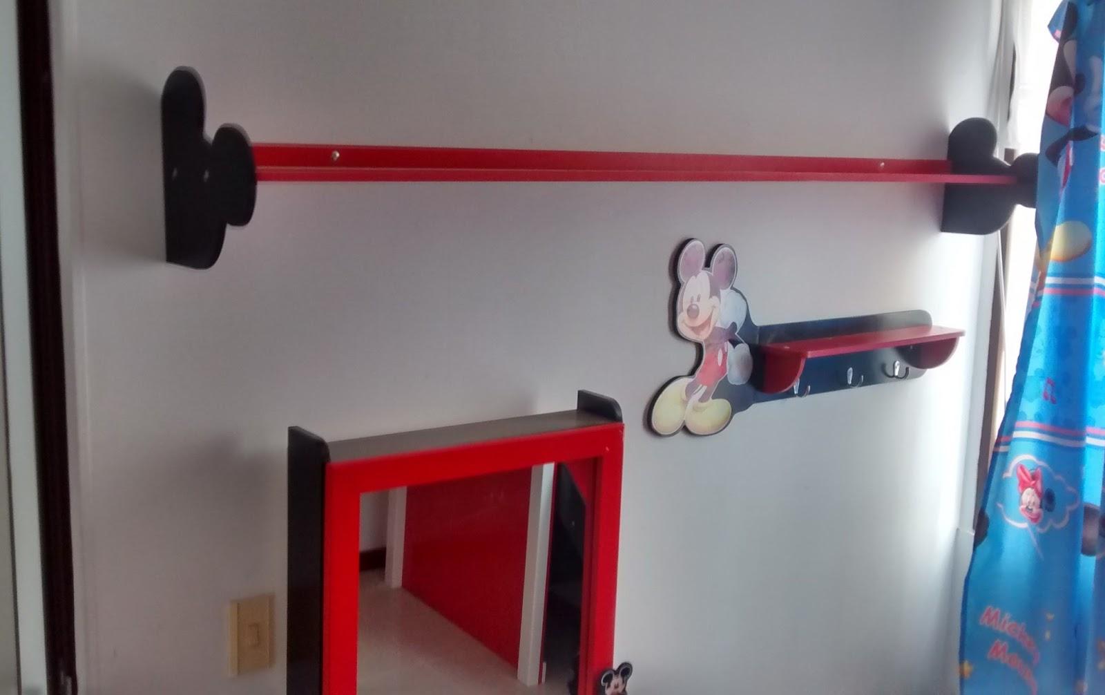 Galeria arte y dise o madekids set habitacion infantil - Muebles de mickey mouse ...