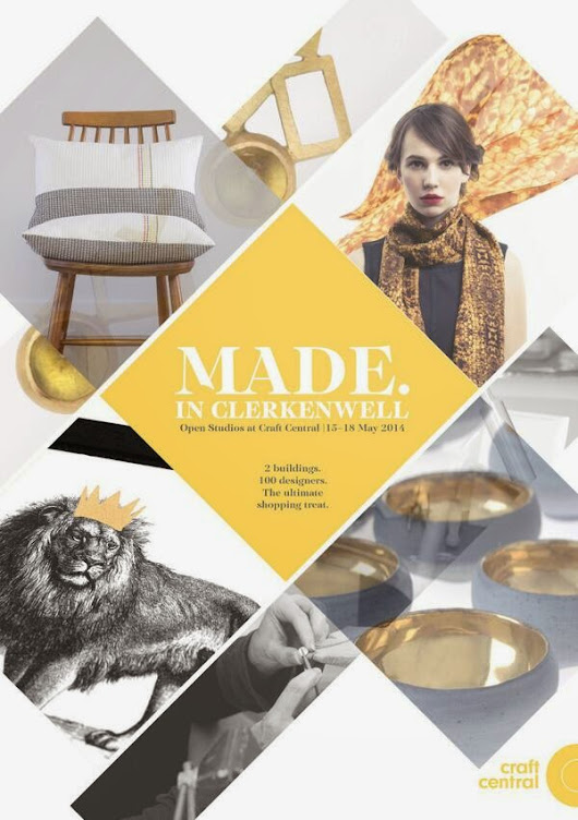 Made in Clerkenwell 15th -18th May