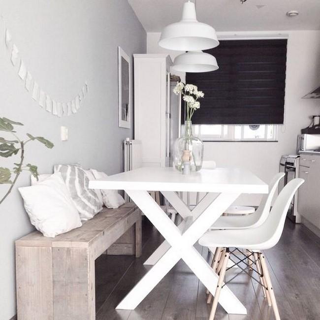 13 fotos de comedores peque os modernos for Muebles para comedor pequeno