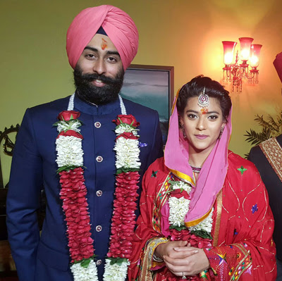 Wedding of Nirvana Singh and Mriganka Singh