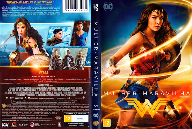 Capa DVD Mulher-Maravilha