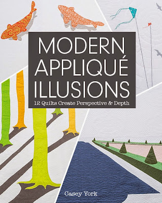 Modern Appliqué Illusions by Casey York (cover)