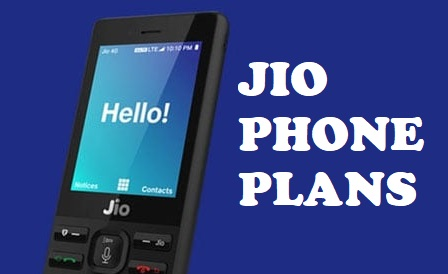 JIO Phone Plans - Rs  49, Rs  99 and Rs  153