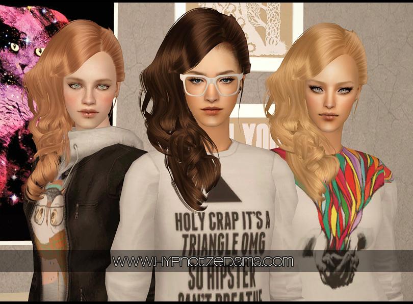 The Sims 2 Fryzury I Ubrania