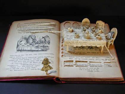 origami livre scene de vie, art book
