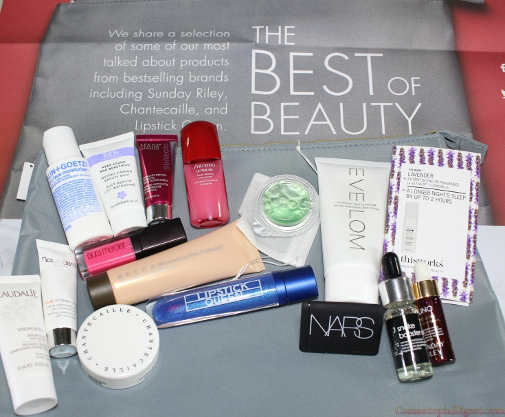 Space.NK Best of Beauty Bag for Summer 2016 reveal.