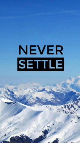Default Never Settle Wallpapers