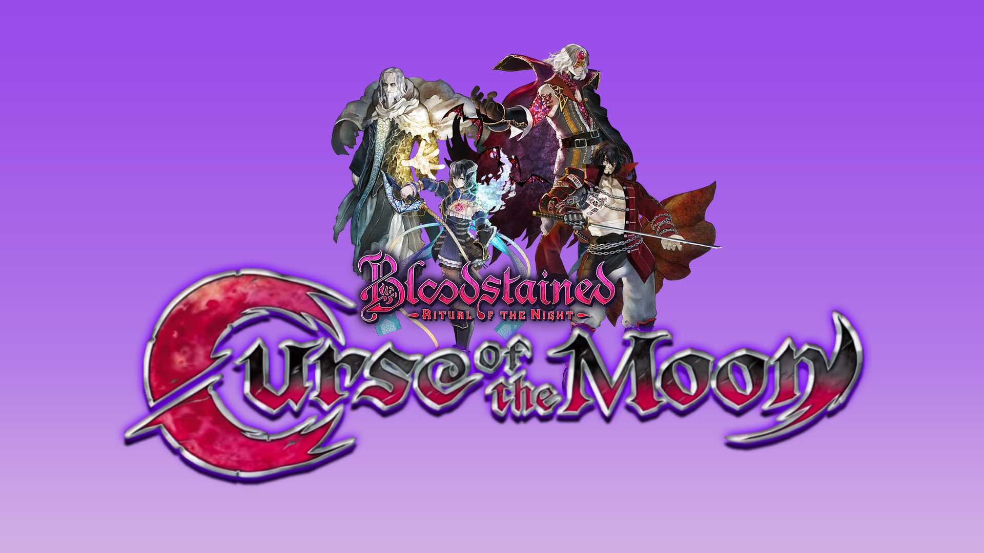 Bloodstained Curse Of The Moon Xbox One Wallpaper