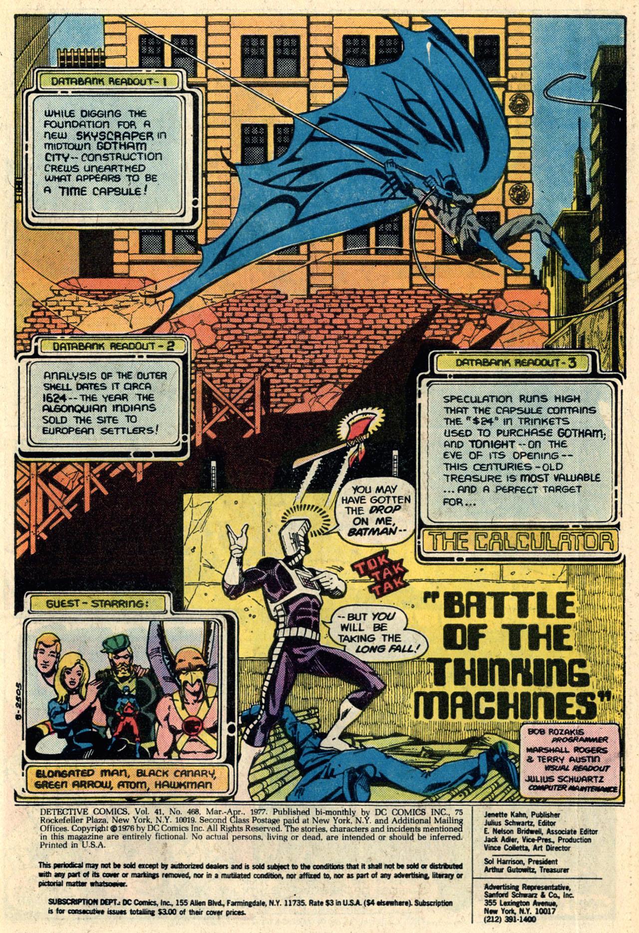 Detective Comics (1937) 468 Page 2