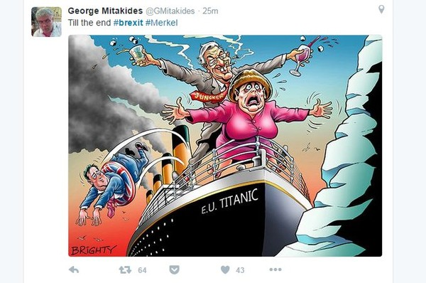 Inggris Cerai Dari Uni Eroupa, Kini Inggris Jadi Bahan Meme Netizen
